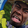 Spongebob and patrick sell Tyler the creator some swag