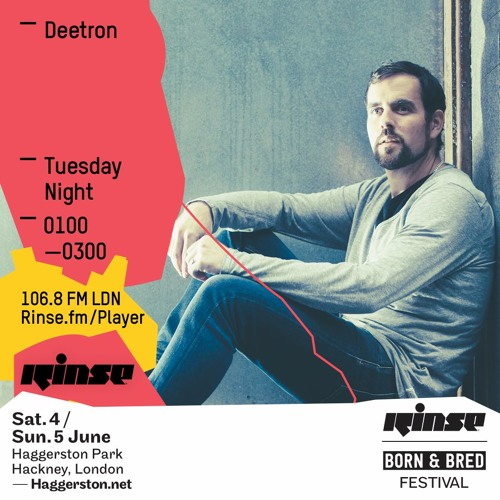 Rinse FM Podcast - Deetron - 5th April 2016