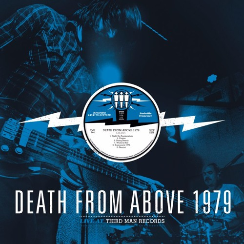 """Death From Above 1979 — """"Right On Frankenstein"""" Live at Third Man Records"""