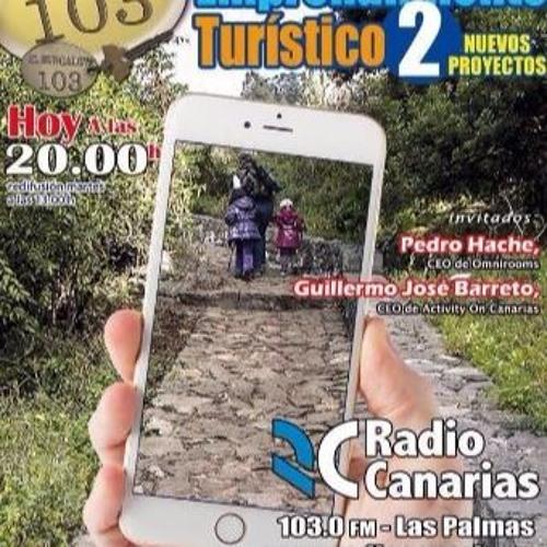 Entrevista en radio Canarias  el 30/04/2015 - Philip Morris Entrepreneur Program 2015'