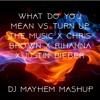 What Do You Mean vs Turn up the Music - Chris Brown X Rihanna X Justin Bieber - DJ MAYHEM MASHUP