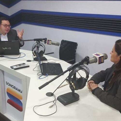 ENTREVISTA RADIO SONORAMA PRIMERA PARTE 2016