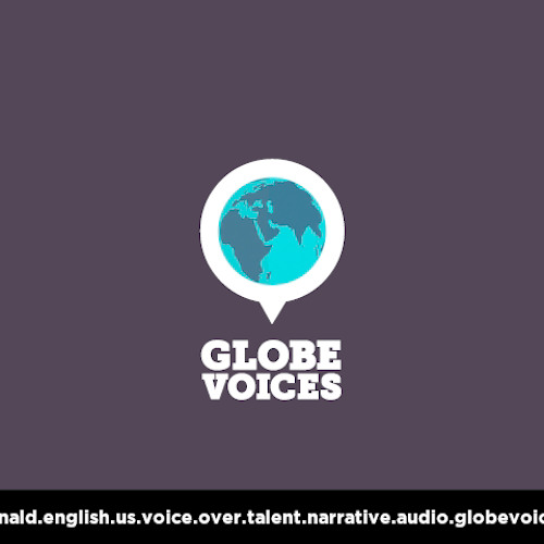 English (American) voice over talent, artist, actor 565 Donald - narrative on globevoices.com