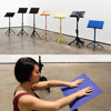 Music Stands, 2016 (with Jin-Xiang Yu) at Yale School of Art