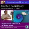 Virginia Gawel con el Lic. Ruben Arana - Práctica de Qi Gong (Chi Kung)