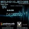 Sound Kleckse Radio Show 0179 - Dj Dextro - 04.04.2016