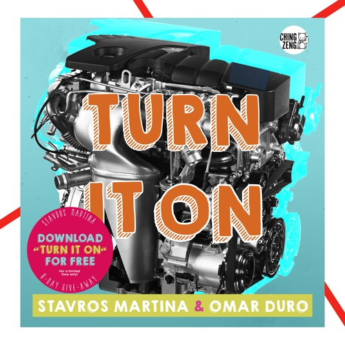 Stavros Martina & Omar Duro - Turn It On