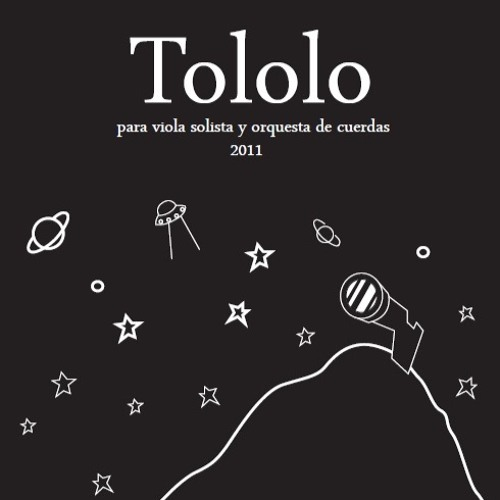 Tololo, for viola and string orchestra