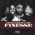 Jim Jones Finesse (Ft. A$AP Ferg, Rich Homie Quan & Desiigner) Artwork