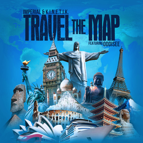Imperial & K.I.N.E.T.I.K. - Travel The Map (feat. Oddisee)
