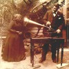 The Man And The Woman And The Edison Phonograph