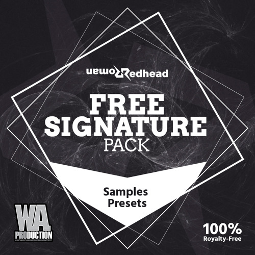 Redhead Roman - FREE Signature Pack [Drum Loops, Kicks, Buildups, Presets, Drop Stabs & More!]