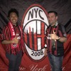 With AC Milan fans for the Juve Game. From Legends