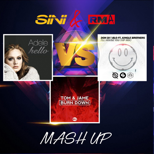 Adele Vs. Don Diablo & Tom Jane - Hello I´ll House You  (Sini & RMA Mash Up)