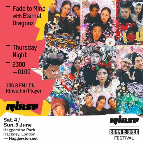 Rinse FM Podcast - Fade To Mind w/ Eternal Dragonz - 14th April 2016