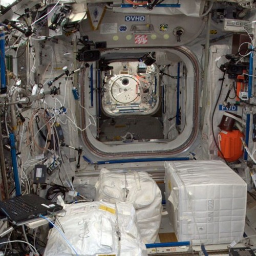Caution - Space Station alarm system