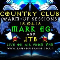 Mark EG Hard Trance Country Club Warm Up 2016 Safehouse Radio - Vinyl Set