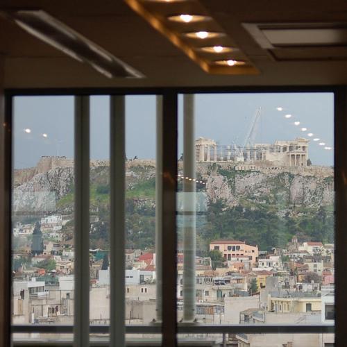 It's raining in Athens