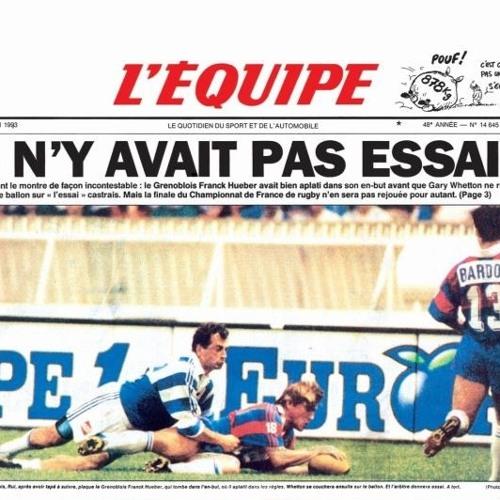 L'étrange finale Castres - Grenoble en 1993
