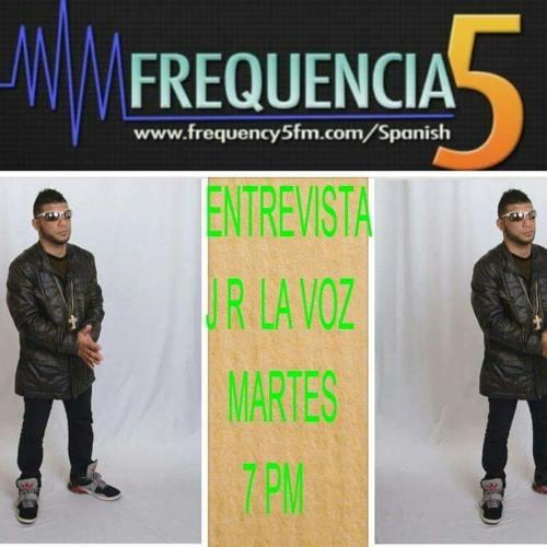 Jr La Voz Romantica -Entrevista en Frecuency5Fm Toronto Canada