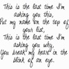 The Last Time - Taylor Swift feat. Gary Lightbody (with Polly Cabrera)