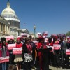 COMMEMORATION Bring Back Our Girls 15 avril 2015 au Capitol de Washington DC.
