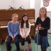 Piano duet and violin performances from the Rotary Music Festival