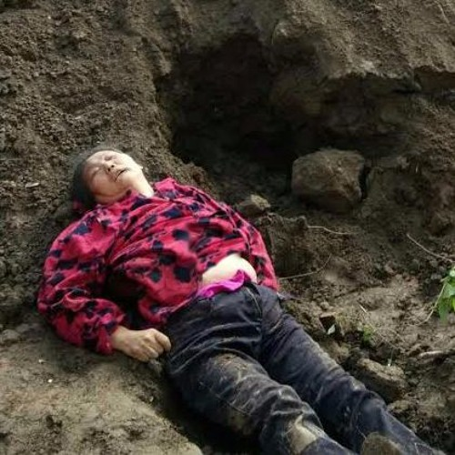 Li Jiangong speaks about his wife's death after being buried alive