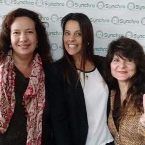 Andrea Vega, Coordinadora de Fund Chacras y Cora Pesiney Coordinadora de proyecto de Fund Compromiso