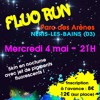 La Fluo Run à Néris-les-Bains