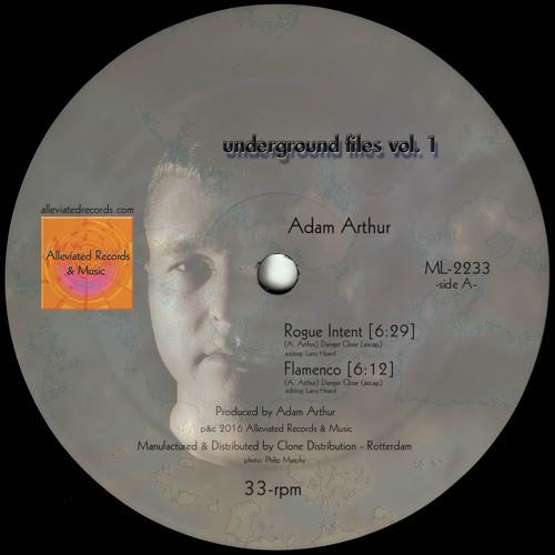 Adam Arthur / Michael Kuntzman - Underground Files EP - Vol. 1 Alleviated Records ML2233