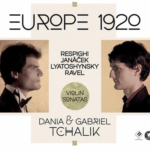 Respighi - Violin Sonata (moderato) Gabriel & Dania Tchalik