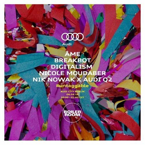 Breakbot Audi Q2 x Boiler Room #untaggable DJ Set