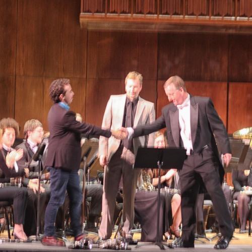 Variaciones fantásticas sobre La Guaneña for solo trumpet and Concert Band by Mauricio Arias. LIVE