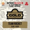 Defqon1 Gold Stage Set - Team Rocket [FREE DOWNLOAD]