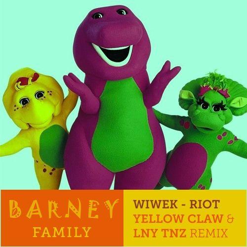 Barney Theme Song(SAYMYNAME's Remix) X Wiwek - Riot (Yellow