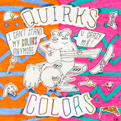 The Quirks - Colors EP (2016)