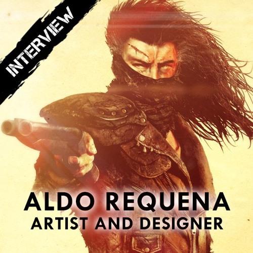 Radio Interview with artist Aldo Requena for Rompiendo El Sonido