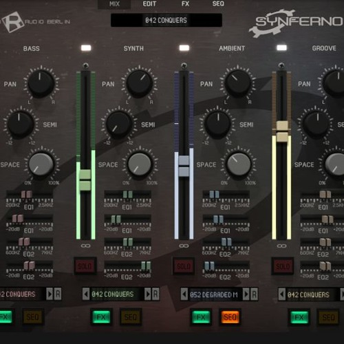 Synferno for KONTAKT [Audio Demo #1]