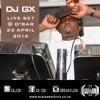 DJ GX Live Set @ Club O'Bar (Friday 22 April)