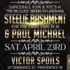 STEELIE BASHMENT & PAUL MICHAEL LIVE AT ISLAND SATURDAYS 4/23