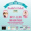 SAVE THE DATE BRIDAL AND DEBUT FAIR by DJ Chloe!