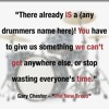 """What Was Different In My Day"" with session drummer, Gary Chester"