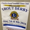 John Naugle - Noontime Lions Club Trout Derby (Tuesday 26 April 2016)