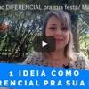 1 Ideia Como DIFERENCIAL Pra Sua Festa /Mandy Designer Decoração De Festa