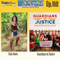 Episode 162 - Syfy Bartow 2016 Live - Clair Davis & Guardians Of Justice