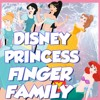 Disney Princess Finger Family Song | Daddy Finger Disney Nursery Rhymes and Kids Songs