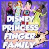More Disney Princess Finger Family Song | Daddy Finger Disney Nursery Rhymes and Kids Songs