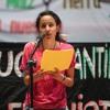 Participación de Berta Zúñiga en el Encuentro Internacional de los Pueblos «Berta Cáceres Vive»