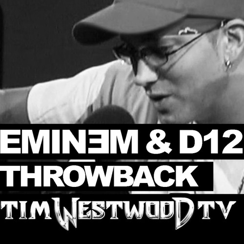 Eminem freestyle never heard before! with D12 Throwback 2004 - Westwood